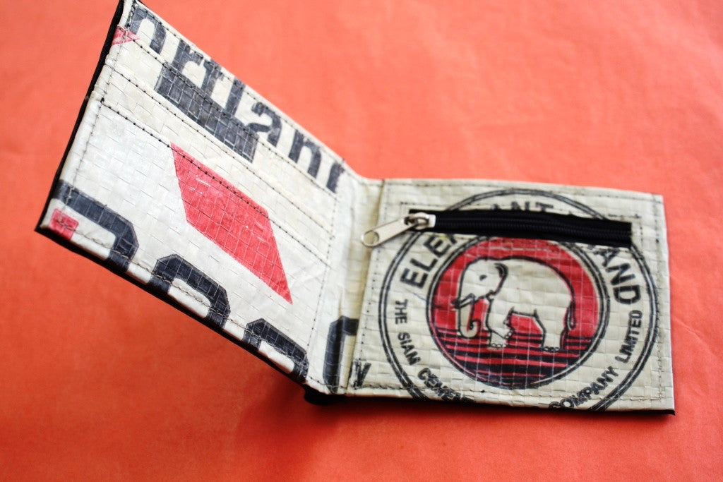 Recycled tyre slim wallet - Accessories - Eighteen Rabbit Fair Trade  - 13