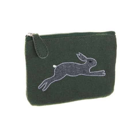 Leaping hare purse - Accessories - Eighteen Rabbit Fair Trade  - 1