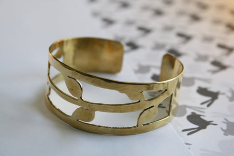 Leaf bangle - Jewellery - Eighteen Rabbit Fair Trade  - 1