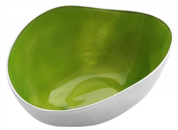 Medium Recycled Aluminium Bowl - Homeware - Eighteen Rabbit Fair Trade  - 3