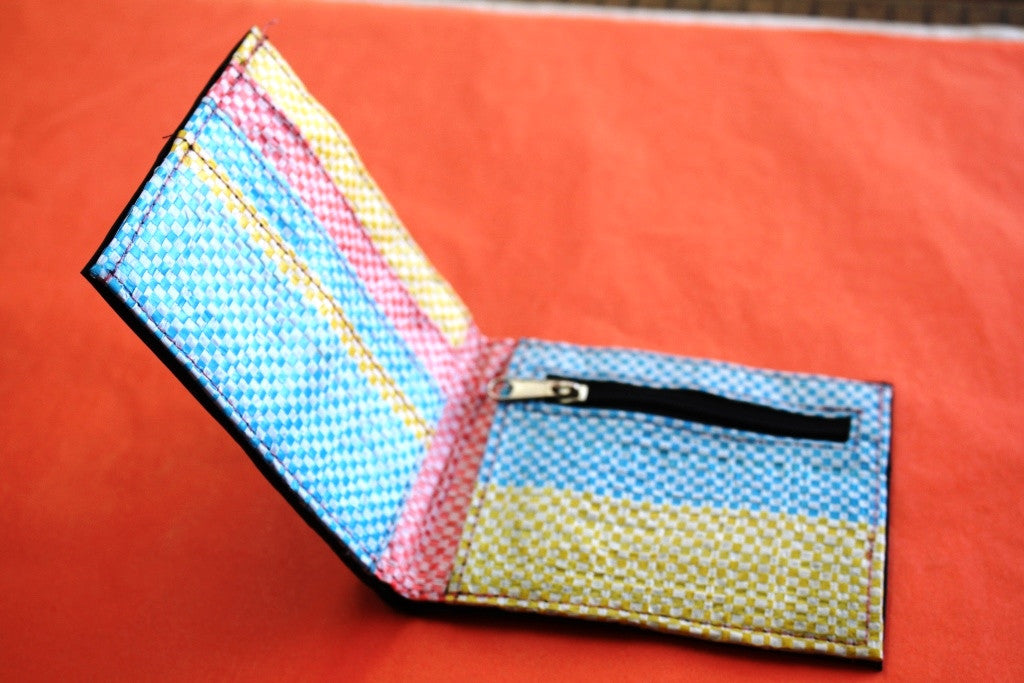 Recycled tyre slim wallet - Accessories - Eighteen Rabbit Fair Trade  - 14