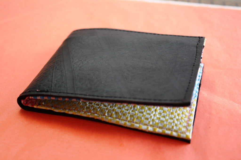 Recycled tyre slim wallet - Accessories - Eighteen Rabbit Fair Trade  - 8