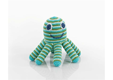 Oscar the Octopus - Soft toys - Eighteen Rabbit Fair Trade