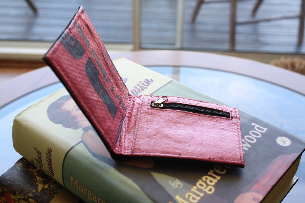 Recycled tyre slim wallet - Accessories - Eighteen Rabbit Fair Trade  - 9