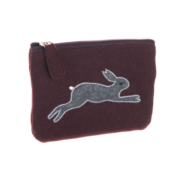 Leaping hare purse - Accessories - Eighteen Rabbit Fair Trade  - 2
