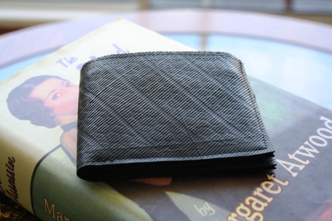 Recycled tyre slim wallet - Accessories - Eighteen Rabbit Fair Trade  - 1