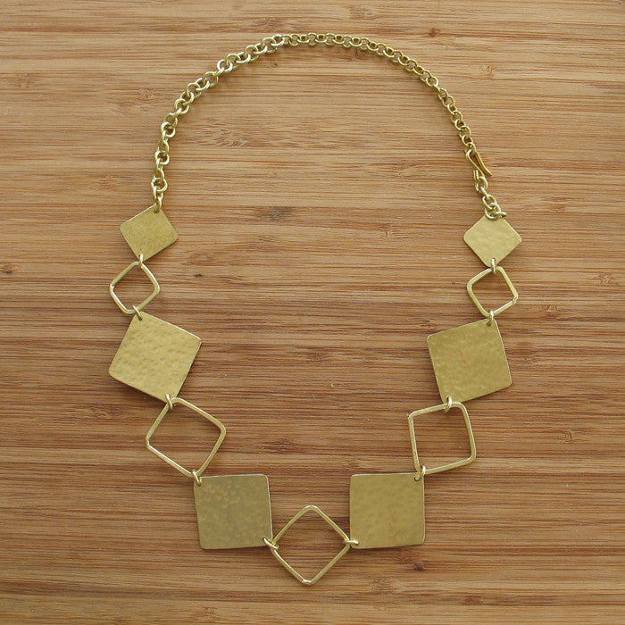 Reflektor necklace - Jewellery - Eighteen Rabbit Fair Trade