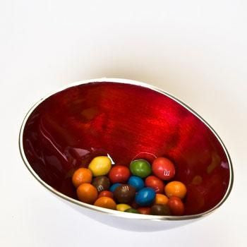 Small Recycled Aluminium Bowl - Homeware - Eighteen Rabbit Fair Trade  - 3