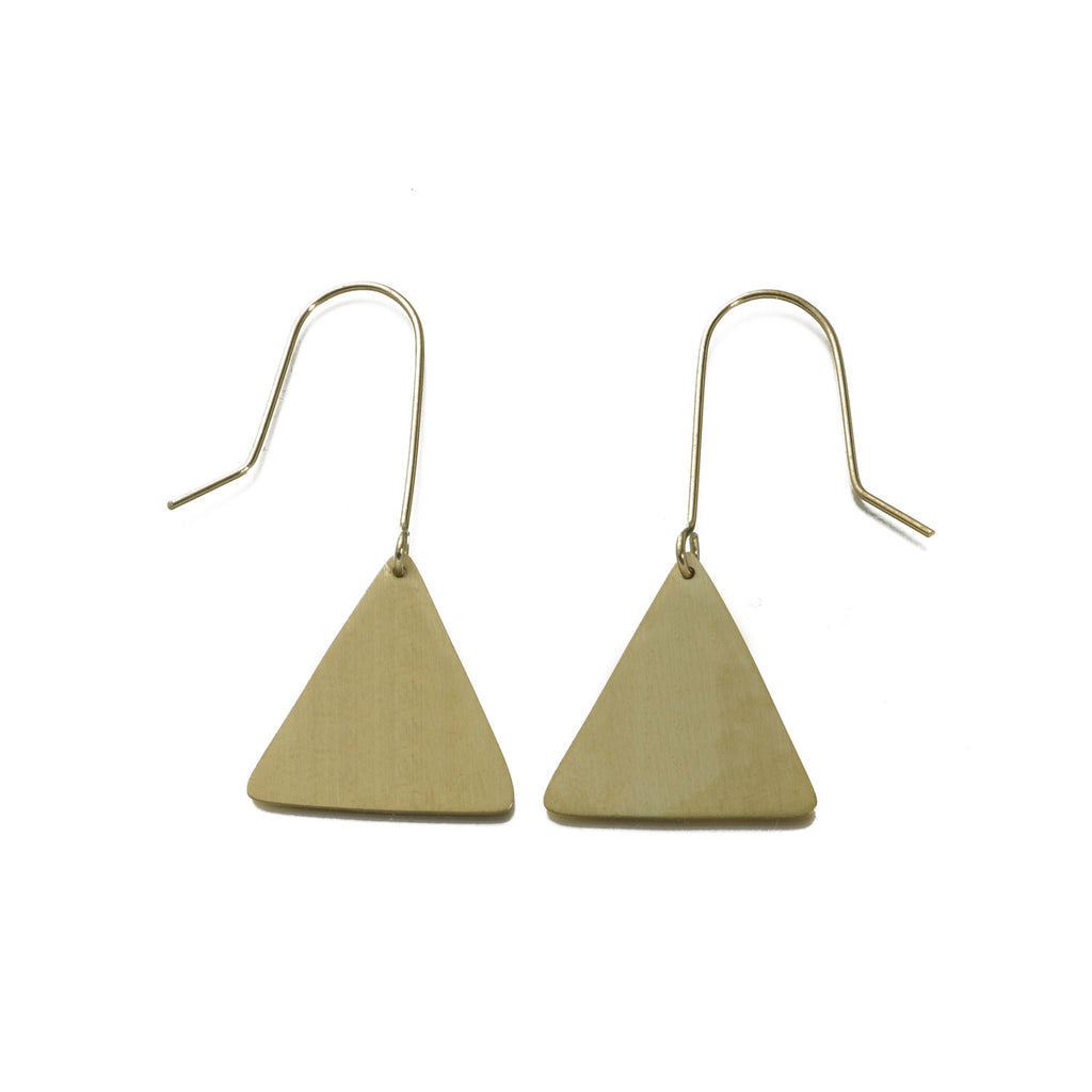 Solid Triangle Earrings