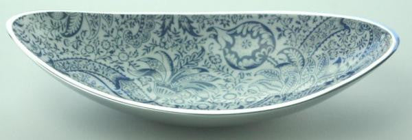 V&A William Morris Recycled Aluminium Long Bowl - Homeware - Eighteen Rabbit Fair Trade  - 1