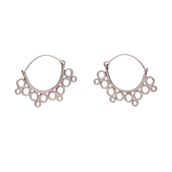Pablo small lace earrings