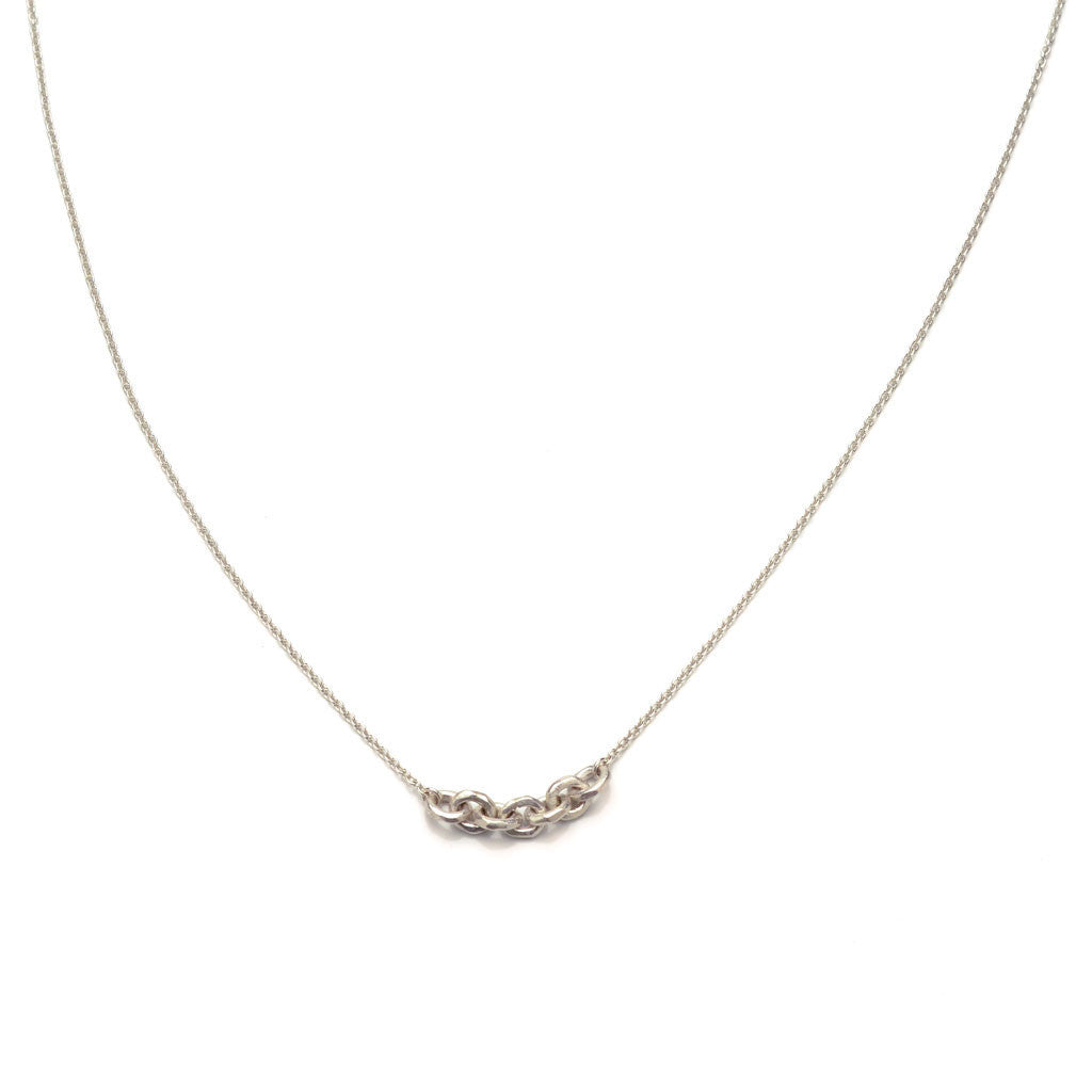 Wabi sabi chain link necklace