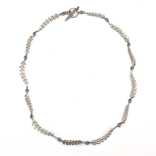 Rome multi-leaf necklace