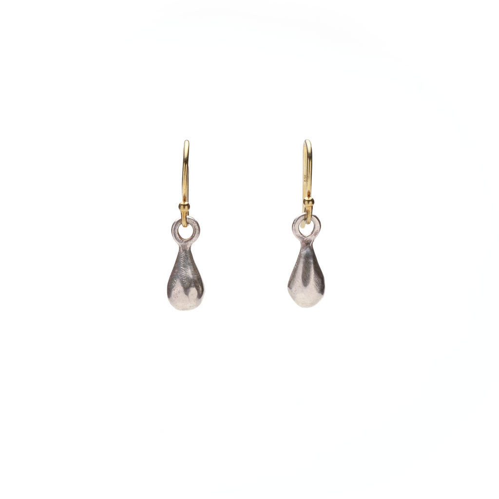 Wabi sabi teardrop earrings