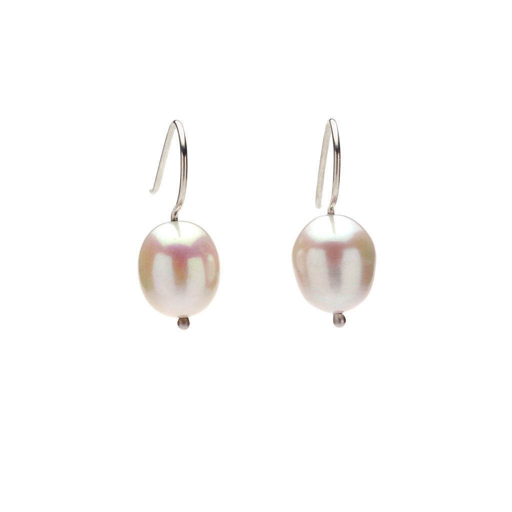 Gemma pearl earrings