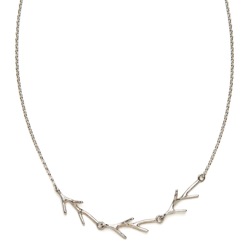 Triple branch necklace