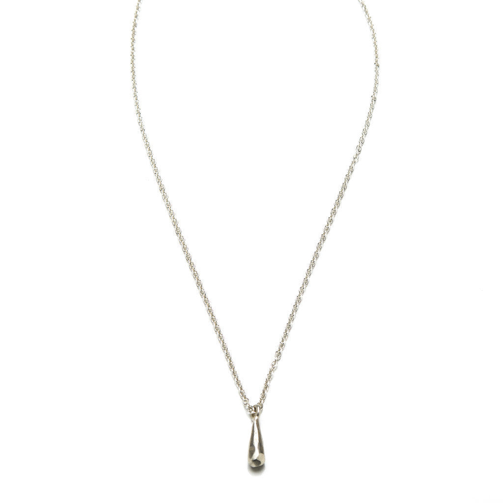 steel co product necklace teardrop arva stainless trio