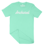 Anchored Tee // Cool Mint