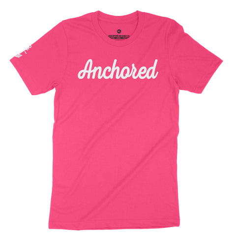 Anchored Tee // Hyper Fuchsia
