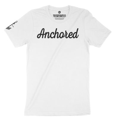 Anchored Tee // White + Black