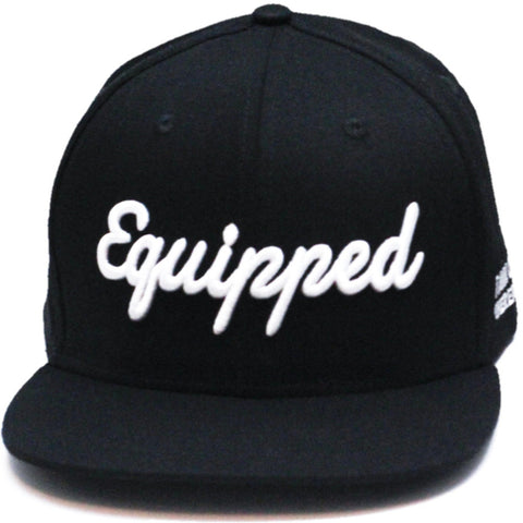 Equipped Life Snapback || Black