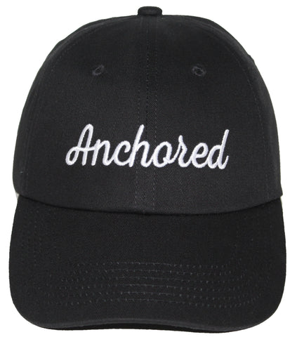 Anchored Dad Hat // Black