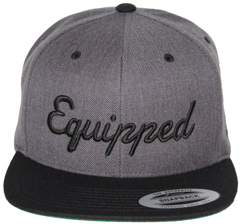 Equipped Life Snap // Dark Heather + Black