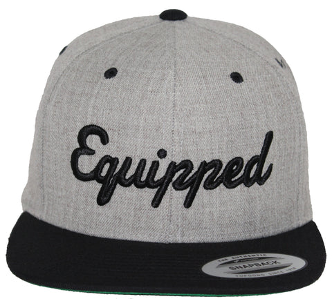 Equipped Life Snap // Heather + Black