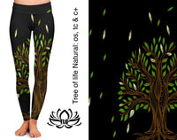 Natural Tree of Life Leggings