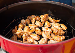 Chicken Wings on a Gateway Drum Smoker
