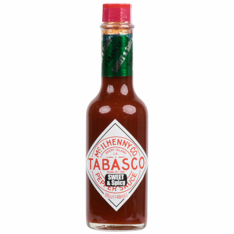 Tabasco Sweet & Spicy Sauce 5 oz. - The Kansas City BBQ Store