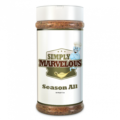 Simply Marvelous Season All Rub 12 oz. - The Kansas City BBQ Store