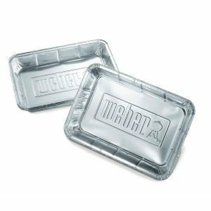 Weber Small Drip Pans for Spirit & Genesis Gas Grills 10-pack - The Kansas City BBQ Store