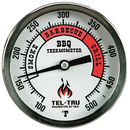"Tel-Tru BQ300 Thermometer, 3"" aluminum dial, 2.5"" stem - The Kansas City BBQ Store"