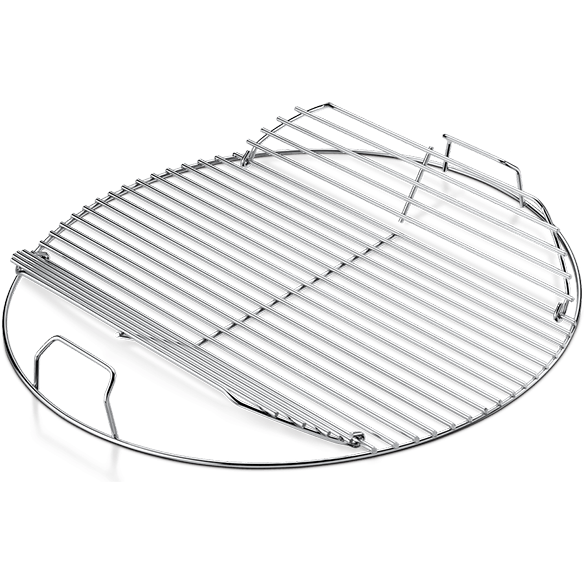 "Weber 18"" Hinged Cooking Grate - The Kansas City BBQ Store"
