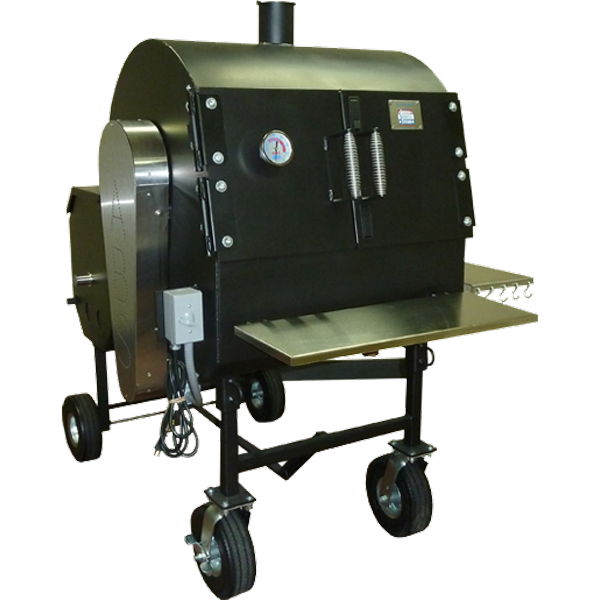 American Barbecue Systems Pit-Boss with Flat Racks