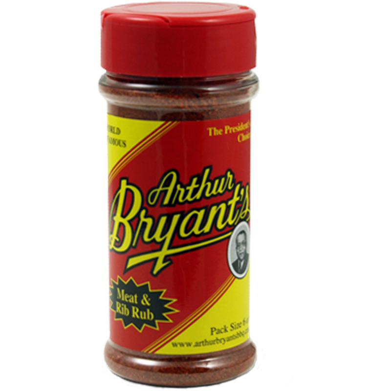 Arthur Bryant's Meat & Rib Rub 6 oz. - The Kansas City BBQ Store