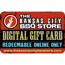 Kansas City BBQ Store Digital Gift Card - The Kansas City BBQ Store