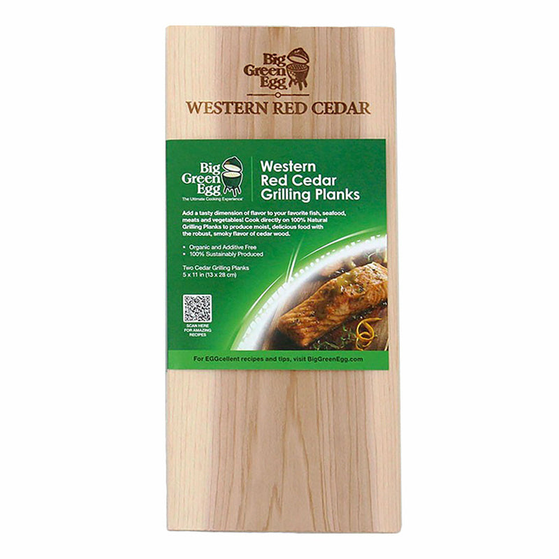 Big Green Egg Cedar Grilling Planks - The Kansas City BBQ Store
