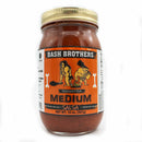 Bash Brothers Meduim Salsa 16 oz. - The Kansas City BBQ Store