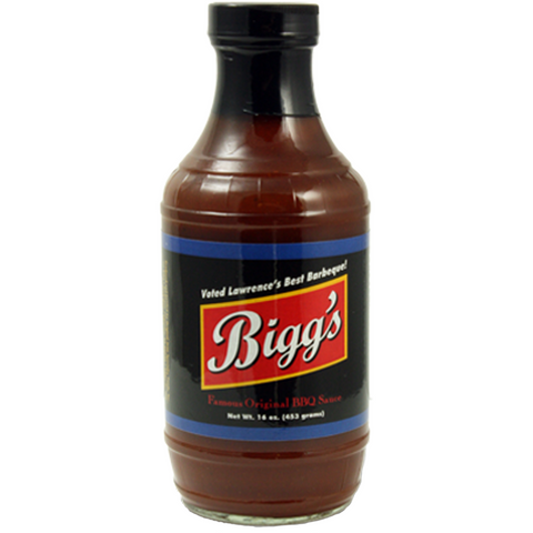 Bigg's Original Barbeque Sauce 16 oz.