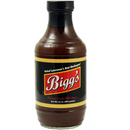 Bigg's Sweet BBQ Sauce 16 oz. - The Kansas City BBQ Store