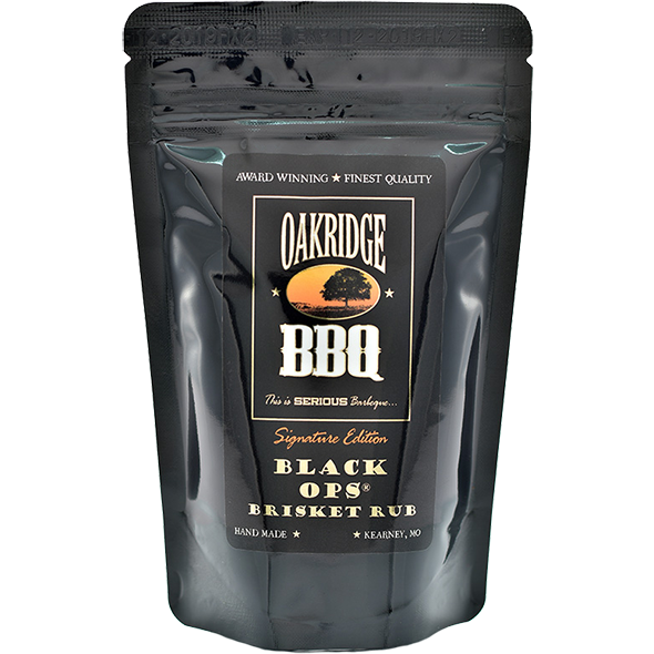 Oakridge Black Ops Brisket Rub 1.75 lbs. - The Kansas City BBQ Store