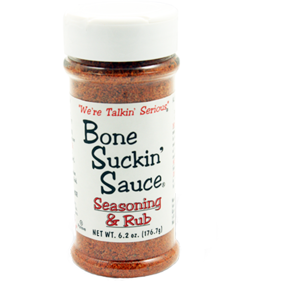 Bone Suckin' Sauce Seasoning & Rub 6.2 oz.