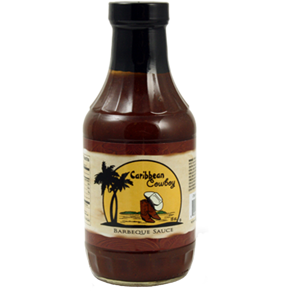 Caribbean Cowboy Barbeque Sauce 18 oz.