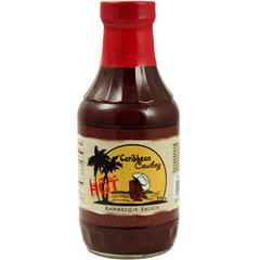 Caribbean Cowboy Hot Barbecue Sauce  18 oz.