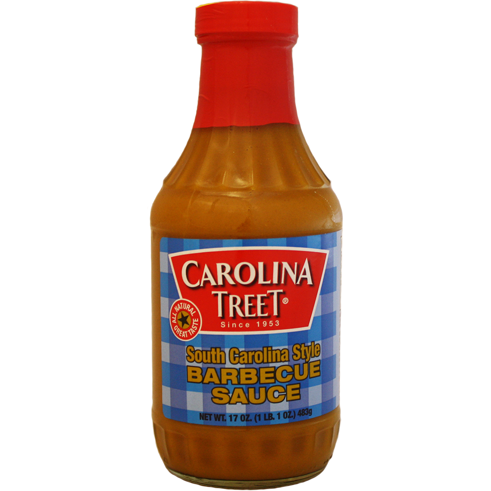 Carolina Treet South Carolina Style Barbecue Sauce 17 oz.
