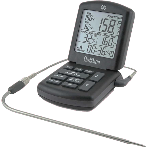 ThermoWorks Chef Alarm Cooking Thermometer - The Kansas City BBQ Store