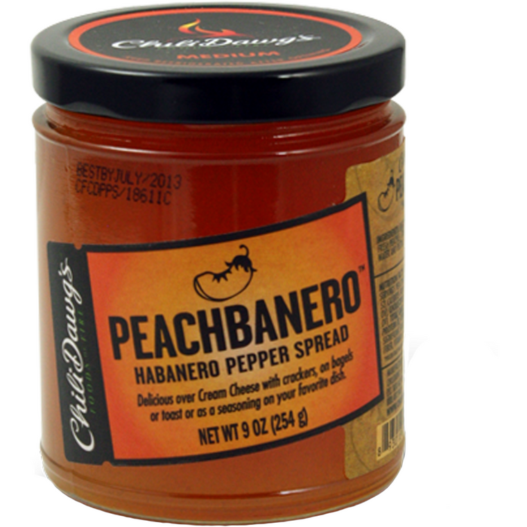Chili Dawg's Peachbanero Pepper Spread 9 oz. - The Kansas City BBQ Store