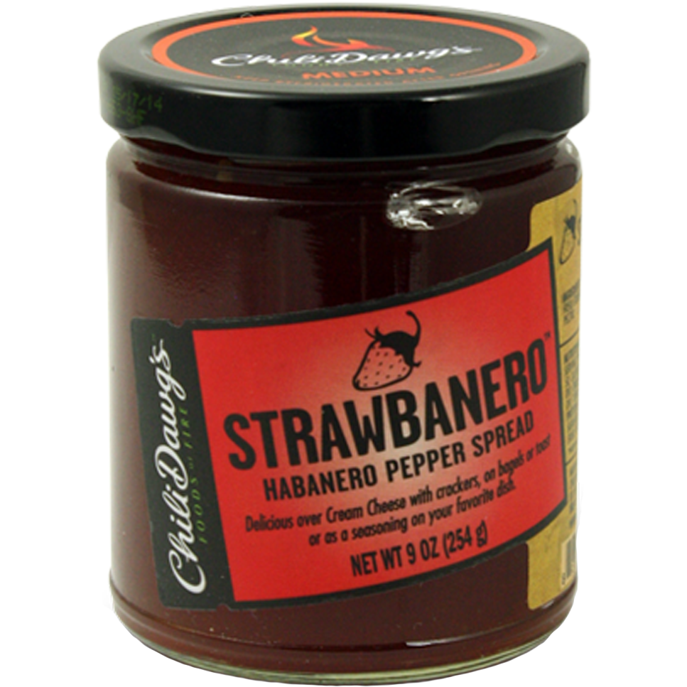 Chili Dawg's Strawbanero Pepper Spread 9 oz.
